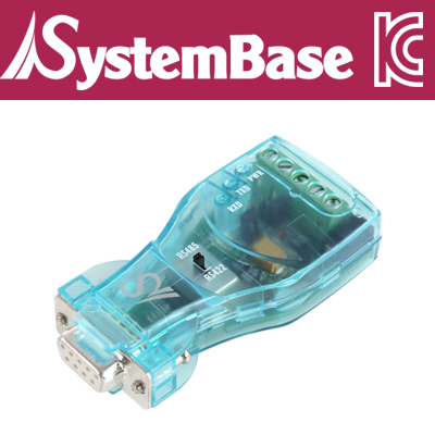 SystemBase(시스템베이스) CS-428/9AT-PRO2 RS232 to RS422/RS485 시리얼 컨버터