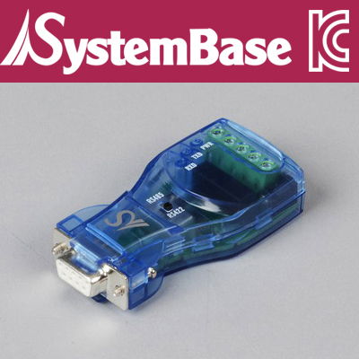 SystemBase(시스템베이스) RS232 to RS422/RS485 아이솔레이션 컨버터 / CS-428/9AT ISO