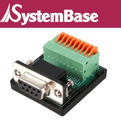 SystemBase(시스템베이스) DB9 Female to Terminal Block(터미널 블록) / CS-99F