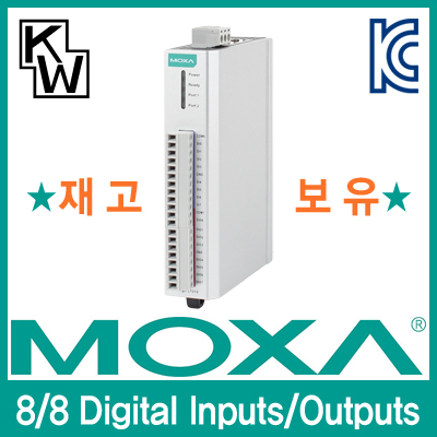 MOXA(모싸) ★재고보유★ ioLogik E1212 원격 I/O 제어기(8 Digital Inputs, 8 Digital Outputs)