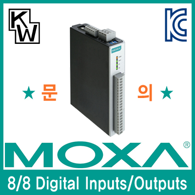 MOXA(모싸) ioLogik R1212 듀얼 RS485 원격 I/O 제어기(8 Digital Inputs, 8 Digital Outputs)
