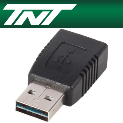 NETmate NM-TNTR12 USB2.0 양면인식 AM-AF 젠더