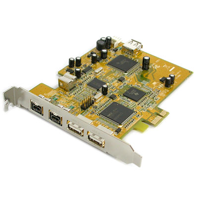 NETmate NM-UFC2412 USB/1394B PCI Express COMBO 카드(NEC/TI)