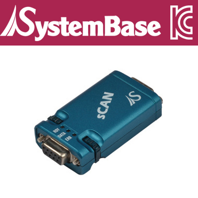 SystemBase(시스템베이스) sCAN RS232 to CAN 컨버터