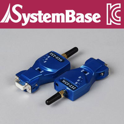 SystemBase(시스템베이스) RS-232 to Bluetooth™ 무선 컨버터