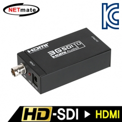 NETmate NM-SDH01 HD-SDI to HDMI 컨버터(100m/200m/300m)