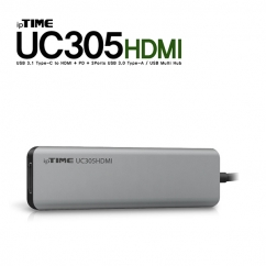 ipTIME(아이피타임) UC305HDMI USB3.1 Type C 5 in 1 멀티 허브