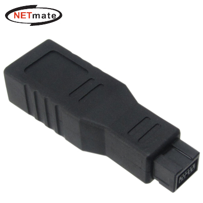 NETmate NM-BG01 IEEE1394 6F to 9M 젠더(NM-BG01)
